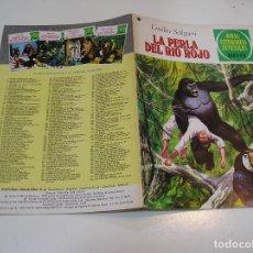 Tebeos: JOYAS LITERARIAS JUVENILES Nº 191 LA PERLA DE RIO ROJO 1ª EDICION ,MUY BUEN ESTADO. Lote 263214440