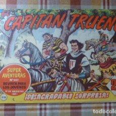 Tebeos: COMIC CAPITAN TRUENO Nº418 1964 DE BRUGUERA. Lote 263250820
