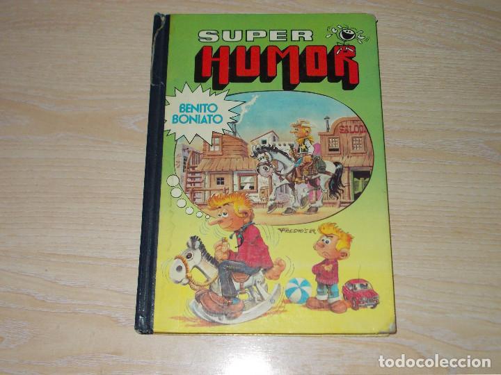 SUPER HUMOR BENITO BONIATO Nº 1. 1ª EDICIÓN 1984. BRUGUERA (Tebeos y Comics - Bruguera - Super Humor)