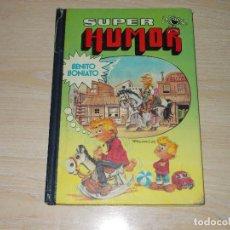 Tebeos: SUPER HUMOR BENITO BONIATO Nº 1. 1ª EDICIÓN 1984. BRUGUERA. Lote 263274090