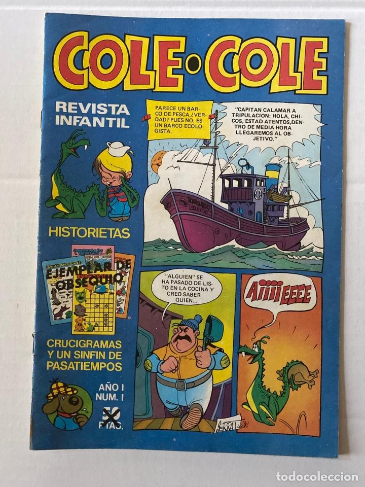 COLE-COLE AÑO 1 Nº1 BRUGUERA BUEN ESTADO (Tebeos y Comics - Bruguera - Cuadernillos Varios)
