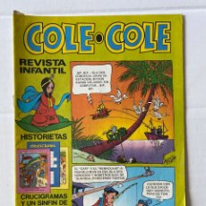 Tebeos: COLE-COLE AÑO 1 Nº4 BRUGUERA BUEN ESTADO. Lote 263567805