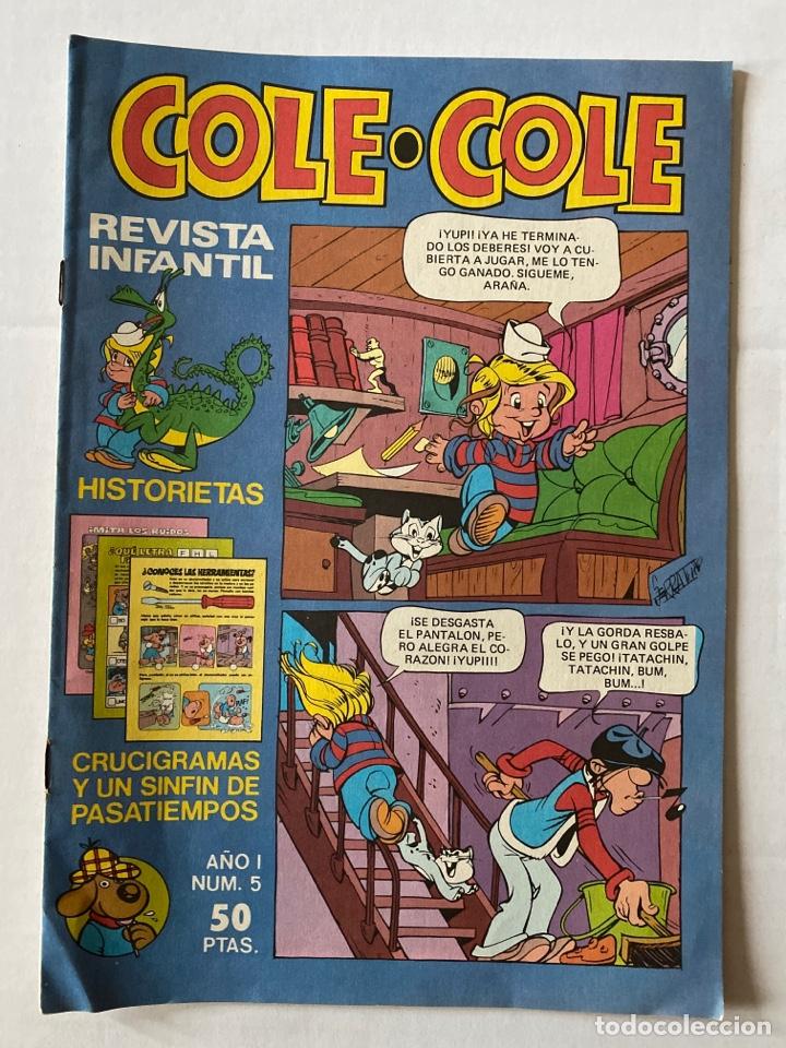 COLE-COLE AÑO 1 Nº5 BRUGUERA BUEN ESTADO (Tebeos y Comics - Bruguera - Cuadernillos Varios)