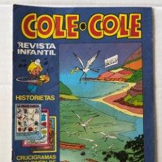 Tebeos: COLE-COLE AÑO 1 Nº9 BRUGUERA BUEN ESTADO. Lote 263570180