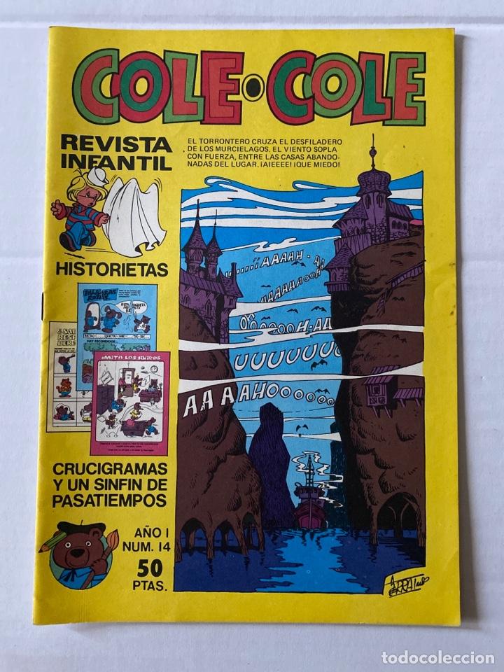 COLE-COLE AÑO 1 Nº14 BRUGUERA BUEN ESTADO (Tebeos y Comics - Bruguera - Cuadernillos Varios)