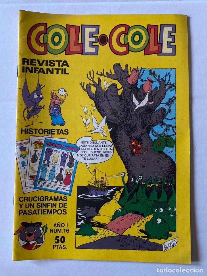 COLE-COLE AÑO 1 Nº16 BRUGUERA BUEN ESTADO (Tebeos y Comics - Bruguera - Cuadernillos Varios)