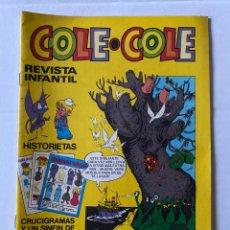Tebeos: COLE-COLE AÑO 1 Nº16 BRUGUERA BUEN ESTADO. Lote 263571715
