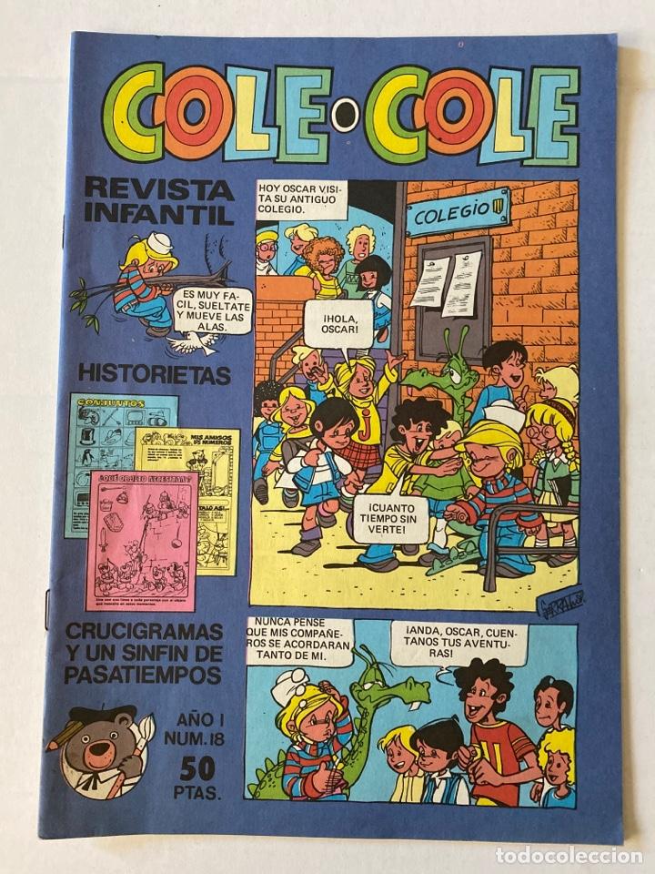 COLE-COLE AÑO 1 Nº18 BRUGUERA BUEN ESTADO (Tebeos y Comics - Bruguera - Cuadernillos Varios)