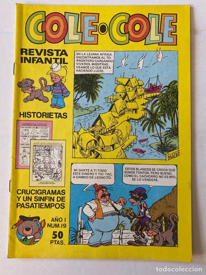 COLE-COLE AÑO 1 Nº19 BRUGUERA BUEN ESTADO (Tebeos y Comics - Bruguera - Cuadernillos Varios)