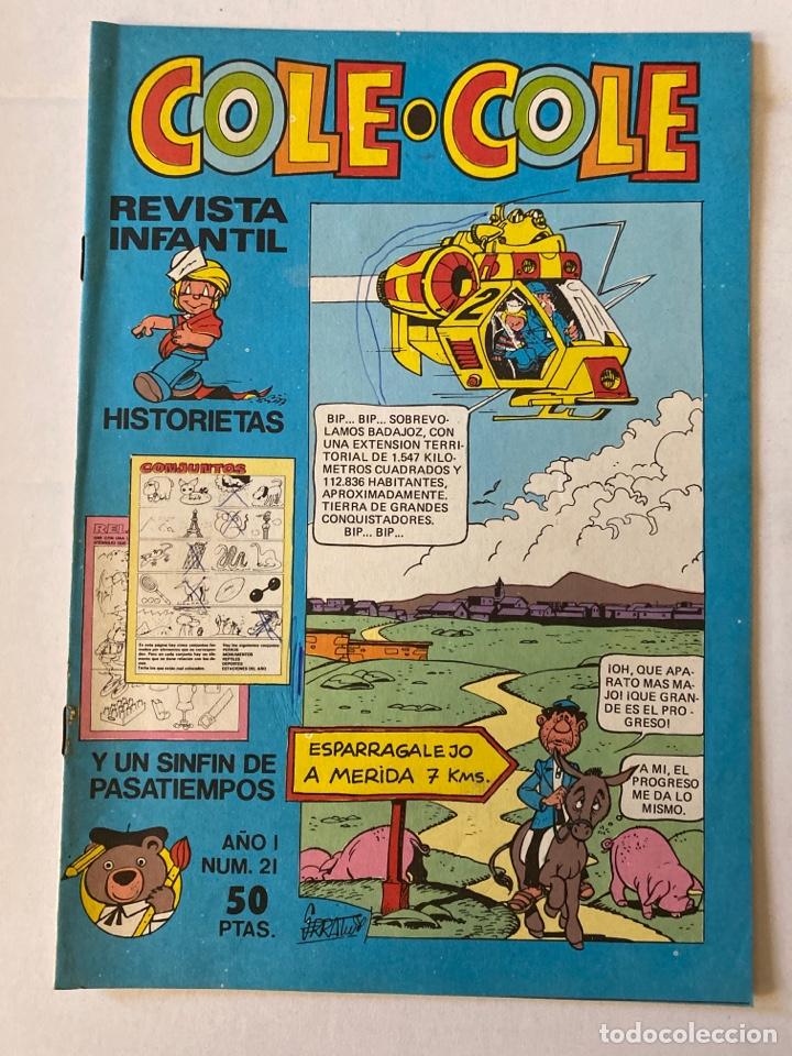 COLE-COLE AÑO 1 Nº21 BRUGUERA O (Tebeos y Comics - Bruguera - Cuadernillos Varios)