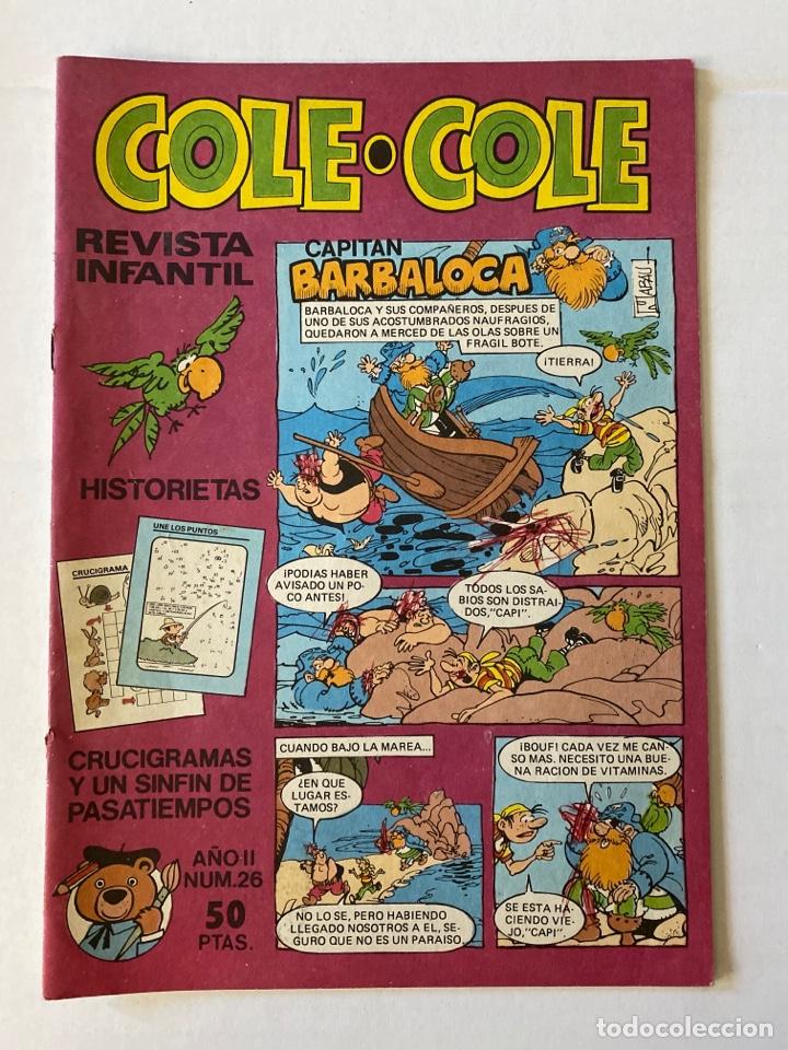 COLE-COLE AÑO II Nº26 BRUGUERA BUEN ESTADO (Tebeos y Comics - Bruguera - Cuadernillos Varios)