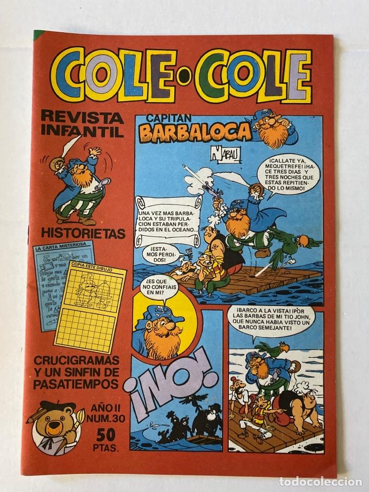 COLE-COLE AÑO II Nº30 BRUGUERA BUEN ESTADO (Tebeos y Comics - Bruguera - Cuadernillos Varios)