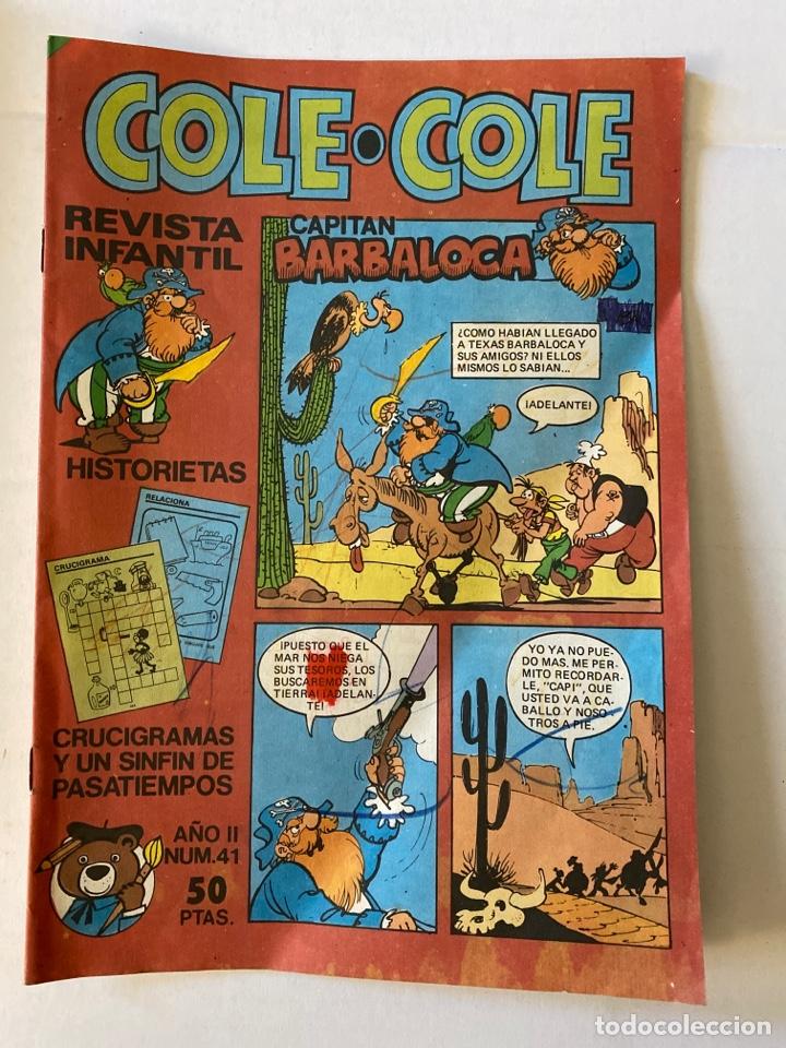 COLE-COLE AÑO II Nº41 BRUGUERA (Tebeos y Comics - Bruguera - Cuadernillos Varios)