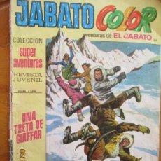 Tebeos: JABATO COLOR - AVENTURAS DE EL JABATO Nº 1388 UNA TRETA DE GIAFFAR - BRUGUERA 1971. Lote 263576640