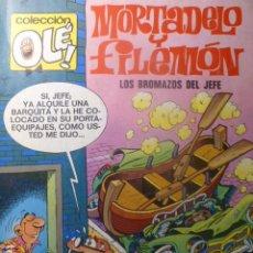 Tebeos: COMIC MORTADELO Y FILEMON LOS BROMAZOS DEL JEFE 5ª EDICIÓN 1987. Lote 263636515