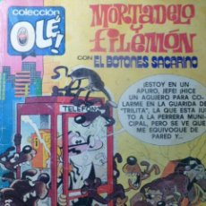 Tebeos: COMIC MORTADELO Y FILEMON CON EL BOTONES SACARINO 1980 203. Lote 263637095
