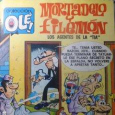 Tebeos: COMIC MORTADELO Y FILEMON LOS AGENTES DE LA TIA 3ª EDICIÓN 1981. Lote 263637155