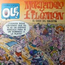 Tebeos: COMIC MORTADELO Y FILEMON EL CASO DEL CALCETIN 2ª ED 1979. Lote 263637275