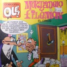 Tebeos: COMIC MORTADELO Y FILEMON EL CIRCO 1ª ED. 1988. Lote 263639655