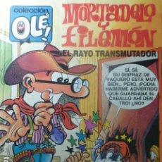Tebeos: COMIC MORTADELO Y FILEMON EL RAYO TRANSMUTADOR 1ª ED. 1988. Lote 263639785