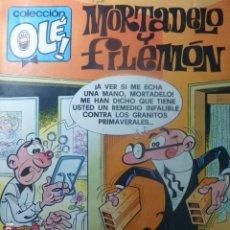 Tebeos: COMIC MORTADELO Y FILEMON CON EL BOTONES SACARINO 1ª ED. 1990. Lote 263640055
