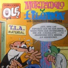 Tebeos: COMIC MORTADELO Y FILEMON LOS CACHARROS MAJARETAS 104 M 60. Lote 263640110