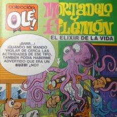 Tebeos: COMIC MORTADELO Y FILEMON EL ELIXIR DE LA VIDA 99 M 65. Lote 263640790