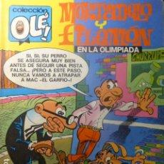 Tebeos: COMIC MORTADELO Y FILEMON EL LA OLIMPIADA 1ª ED 1988. Lote 263641345