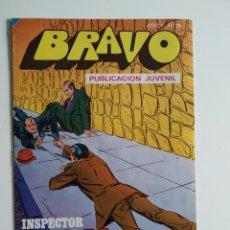 Tebeos: BRAVO ~ EL INSPECTOR DAN Nº38 ~ BRUGUERA. Lote 263687575