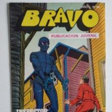 Tebeos: BRAVO ~ EL INSPECTOR DAN Nº33 ~ BRUGUERA. Lote 263688585