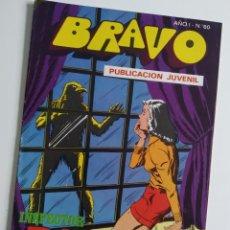 Tebeos: BRAVO ~ EL INSPECTOR DAN Nº30 ~ BRUGUERA. Lote 263689015