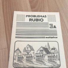 Giornalini: H1. PROBLEMAS RUBIO 3A. Lote 263753195