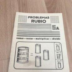 Giornalini: H1. PROBLEMAS RUBIO 5A. Lote 263882640