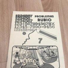 Giornalini: H1. PROBLEMAS RUBIO 7. Lote 263882705