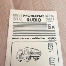 Giornalini: H1. PROBLEMAS RUBIO 6A. Lote 263882810