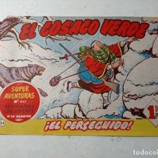 Tebeos: ORIGINAL NO COPIA EL COSACO VERDE 441 EL PERSEGUIDO BRUGUERA AÑO 1961. Lote 263910135