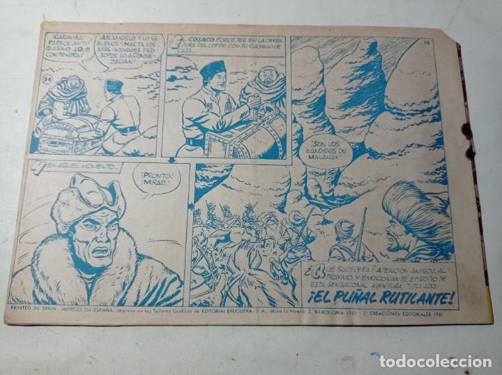 Tebeos: Original no copia el cosaco verde 441 el perseguido bruguera año 1961 - Foto 2 - 263910135