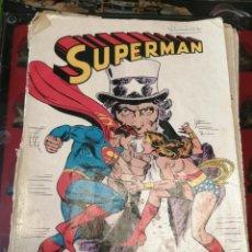 Tebeos: SUPERMAN Nº 4 ENFRENTAMIENTO CONTRA LA MUJER MARAVILLA. Lote 263941335
