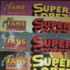 Tebeos: LOTE 14 SUPERLOPEZ. SUPER LOPEZ 9 23 24 25 26 27 34 35 36 37 Y FANS 10 13 39 40. Lote 264089660