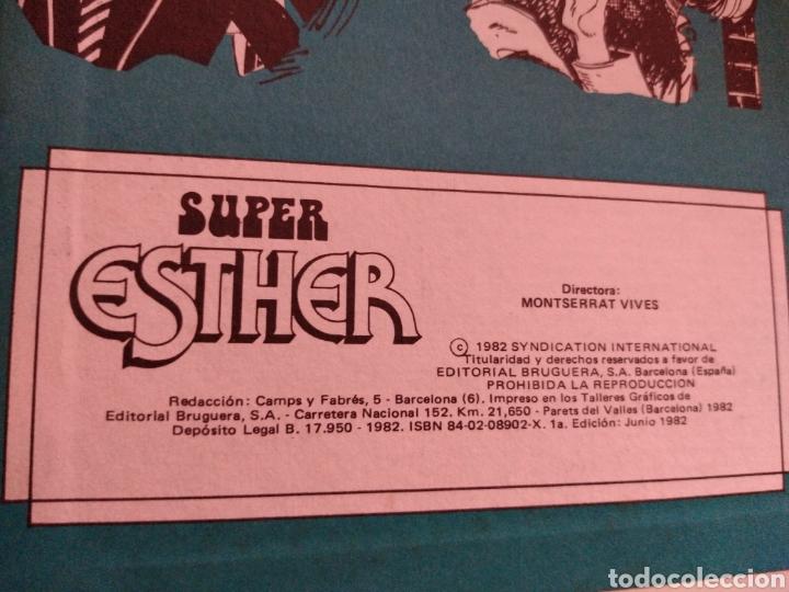 Tebeos: Súper Esther esta es mi vida año 1982 - Foto 4 - 264142848