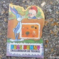 Livros de Banda Desenhada: MINI TROQUELADOS TELE COLOR 68 BUGS BUNNY DESCUBRIDOR DE TESOROS, BRUGUERA 1971. Lote 264181016