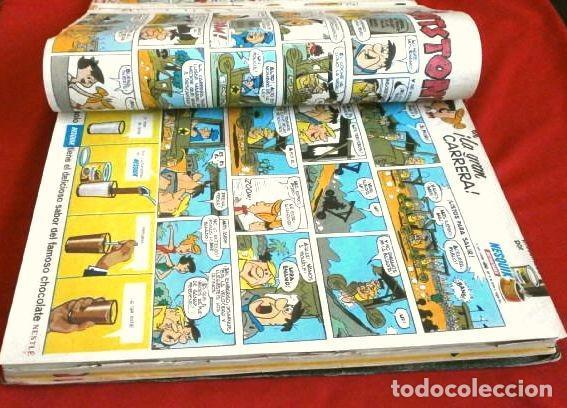 Tebeos: TELE COLOR Original (años 60) 32 TEBEOS ENCUADERNADOS en un Tomo - Entre el Nº 6 y 52 - Bruguera - Foto 6 - 264197568