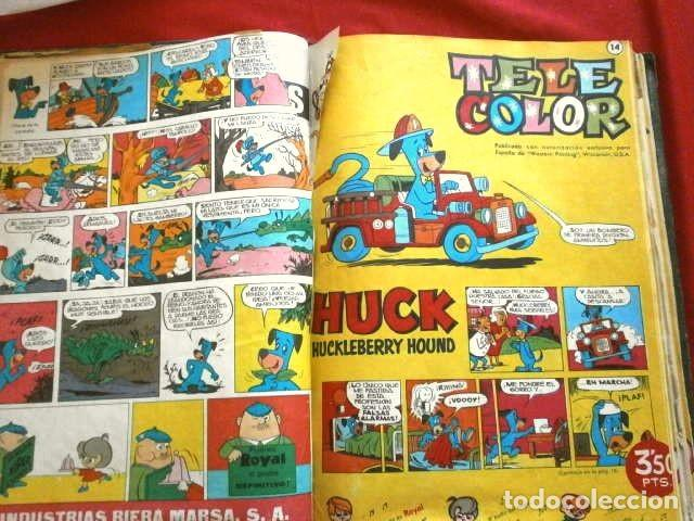 Tebeos: TELE COLOR Original (años 60) 32 TEBEOS ENCUADERNADOS en un Tomo - Entre el Nº 6 y 52 - Bruguera - Foto 13 - 264197568