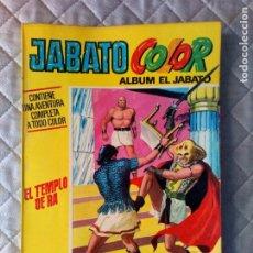 Tebeos: JABATO COLOR EXTRA Nº 9 ALBUM AMARILLO 1ª ÉPOCA BRUGUERA. Lote 264226040