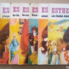 Tebeos: LOTE ESTHER JOYAS LITERARIAS JUVENILES (BRUGUERA). 22 NÚMEROS ENTRE EL 1 Y EL 81.. Lote 178328421