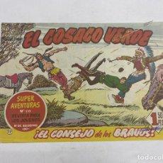 Tebeos: EL COSACO VERDE. Nº 77.- ¡EL CONSEJO DE LOS BRAVOS!. EDITORIAL BRUGUERA. Lote 264293780