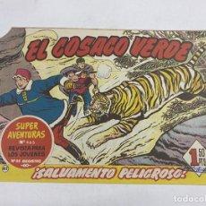 Tebeos: EL COSACO VERDE. Nº 62.- ¡SALVAMENTO PELIGROSO!. EDITORIAL BRUGUERA. Lote 264293852