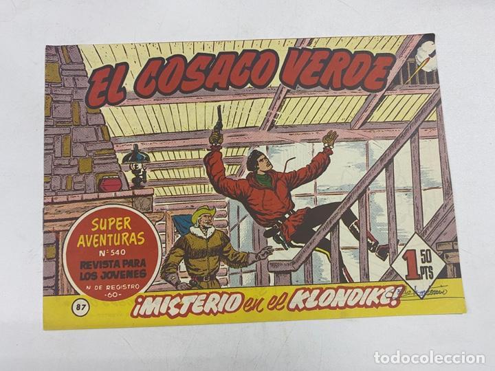 EL COSACO VERDE. Nº 87.- ¡MISTERIO EN EL KLONDIKE!. EDITORIAL BRUGUERA (Tebeos y Comics - Bruguera - Cosaco Verde)