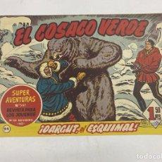 BDs: EL COSACO VERDE. Nº 94.- ¡DARGUT, EL ESQUIMAL!. EDITORIAL BRUGUERA. Lote 264293988