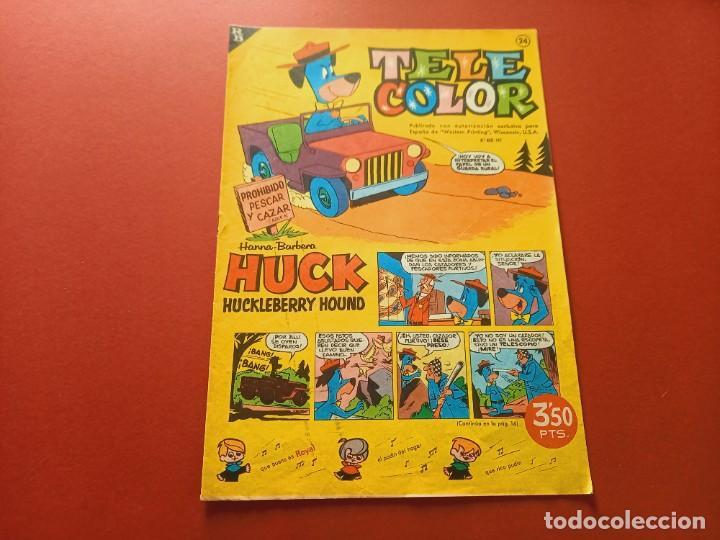 TELE COLOR Nº 24 - BRUGUERA (Tebeos y Comics - Bruguera - Tele Color)